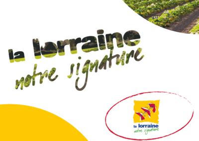 Maquette La Lorraine Notre Signture