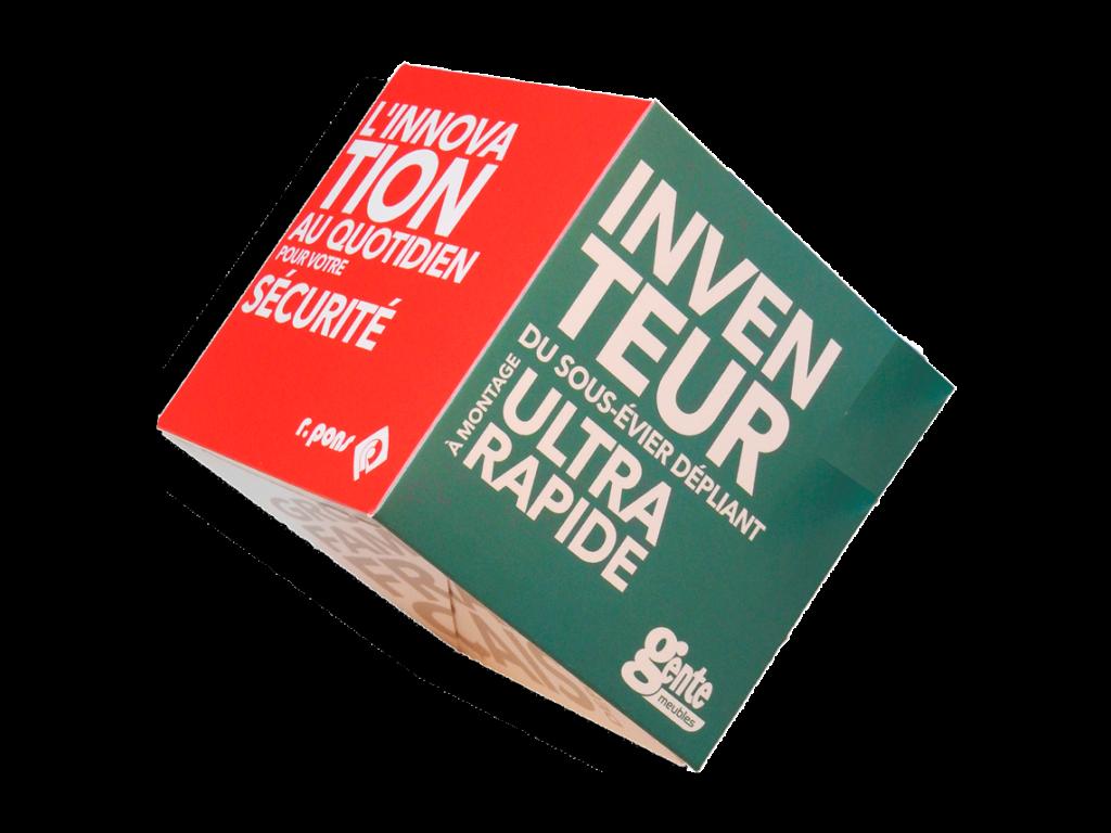 Cube sauteur Gente Huot Pons - La Source