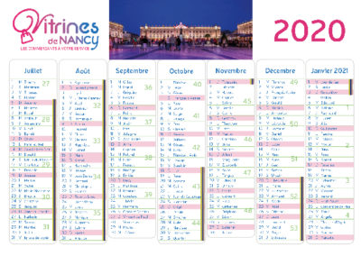 La Source web calendrier Vitrines de Nancy